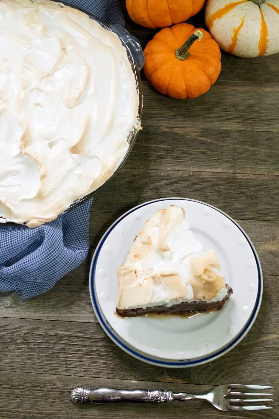 Chocolate Pie Recipe with Meringue