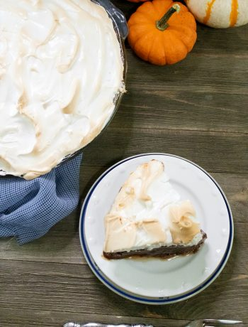Chocolate Pie Recipe with Meringue