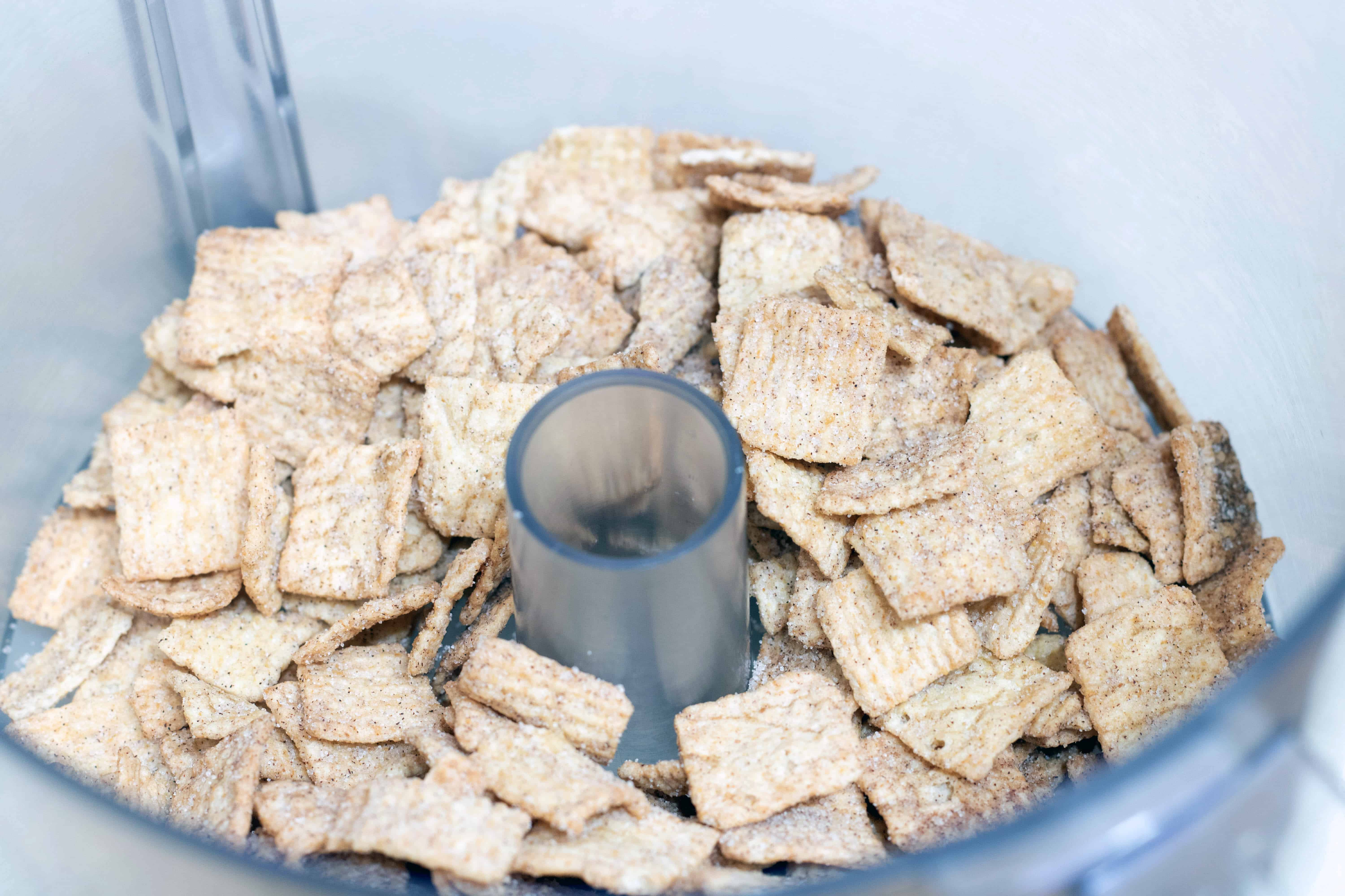 cinnamon toast crunch in the food processor