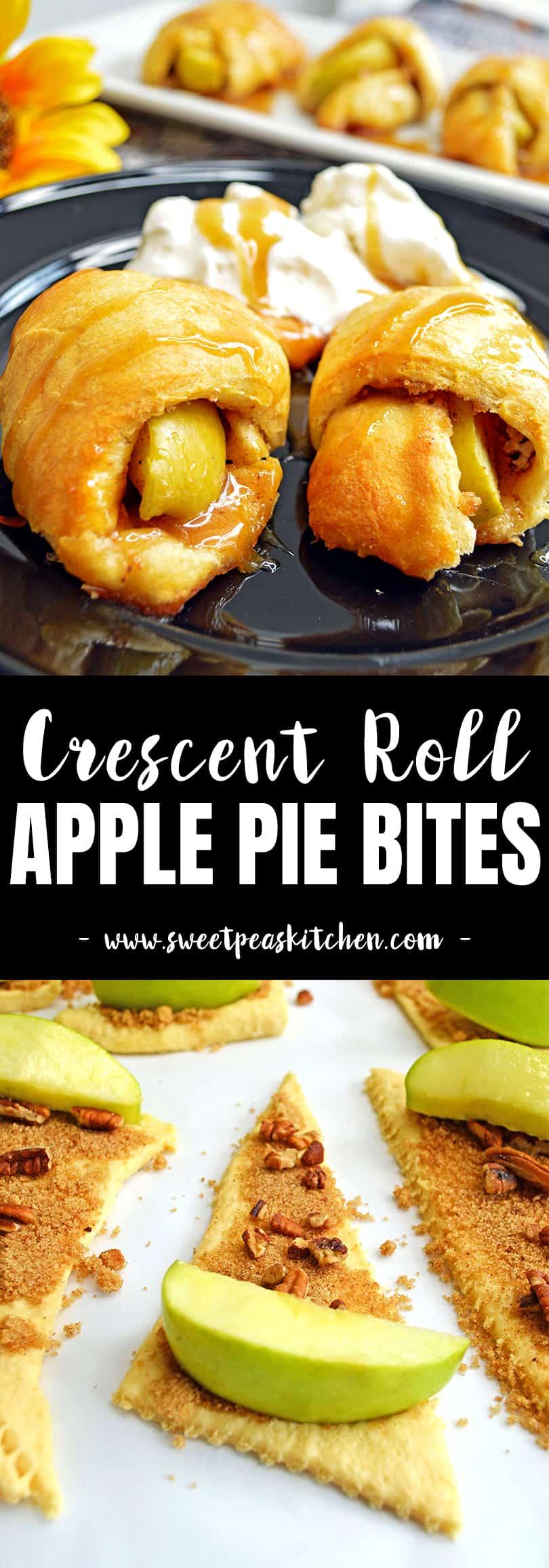 Crescent Roll Apple Pie Bites Recipe