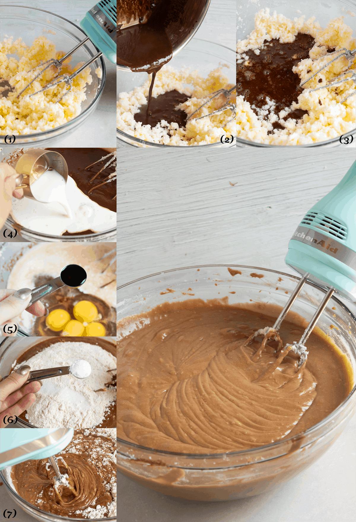 how to make german chocolate layer cake