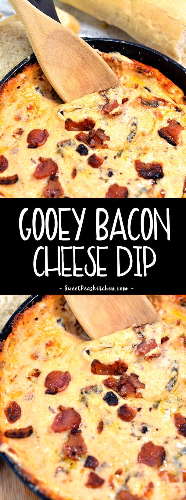 Gooey Bacon Cheese Dip Recipe