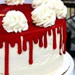 Halloween Cake Recipe: Bloody Vampire Cake