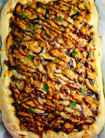 Homemade BBQ Chicken Pizza Recipe