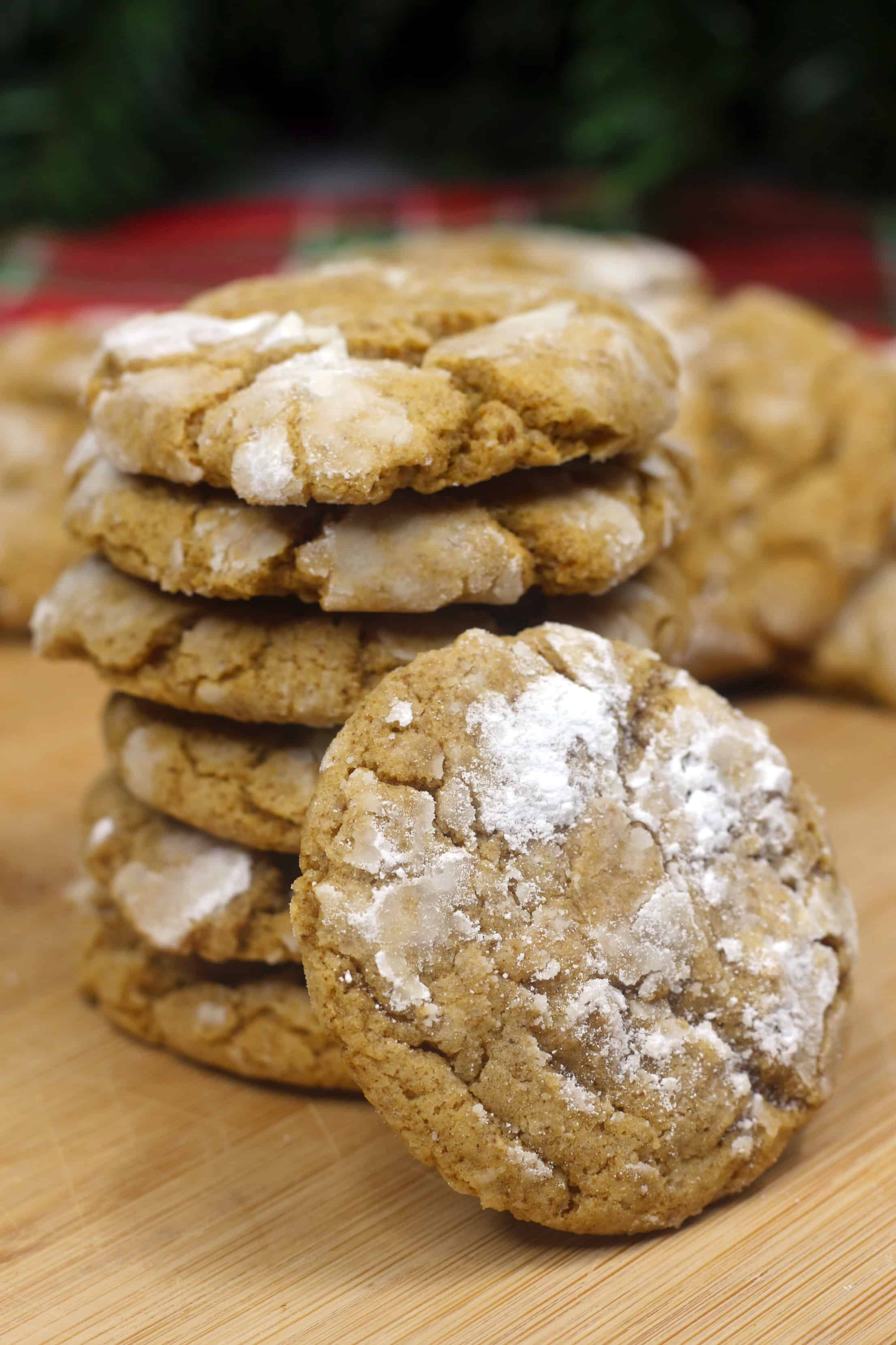 Gingerbread Crackle Cookie