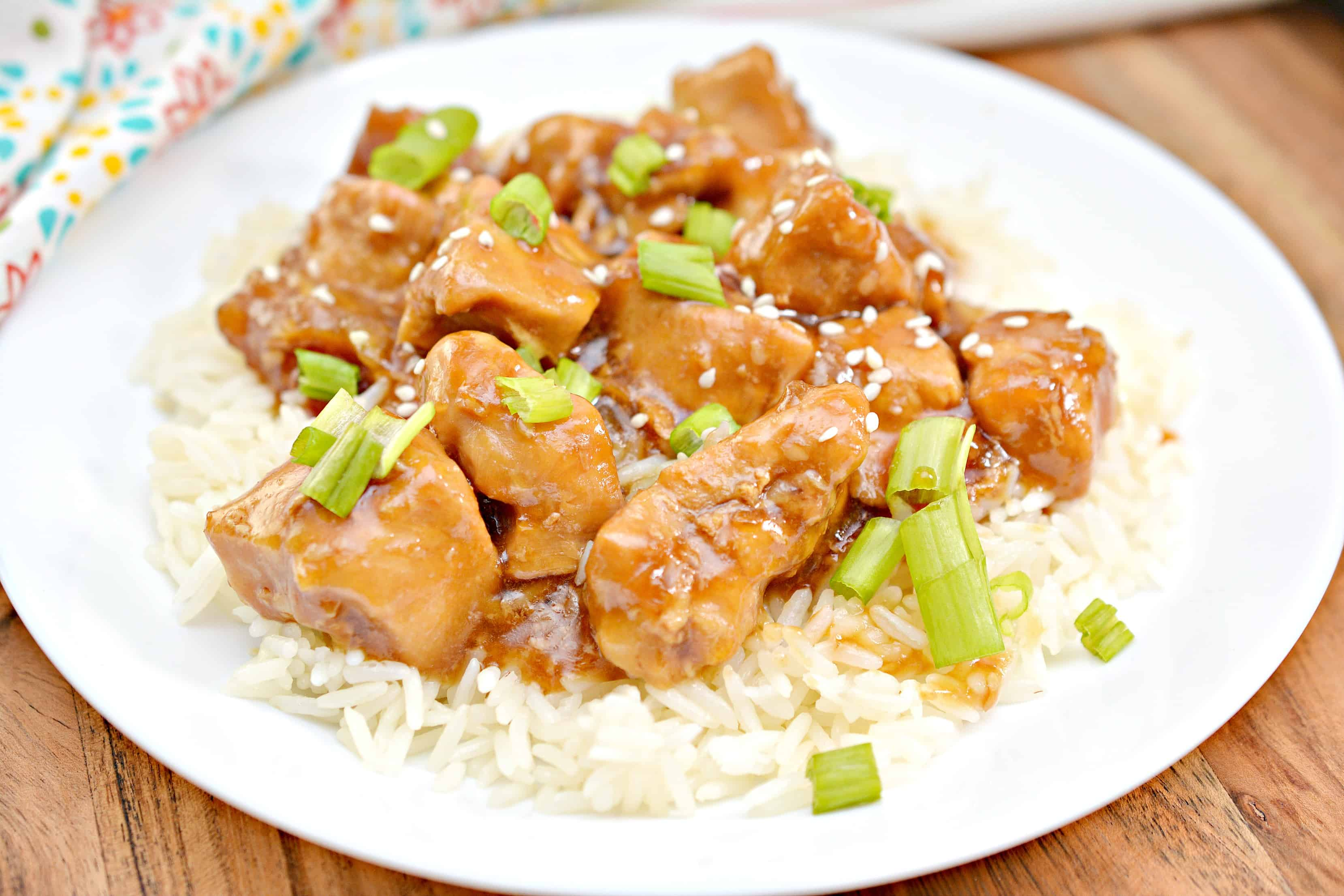 Instant Pot Sesame Chicken Recipe