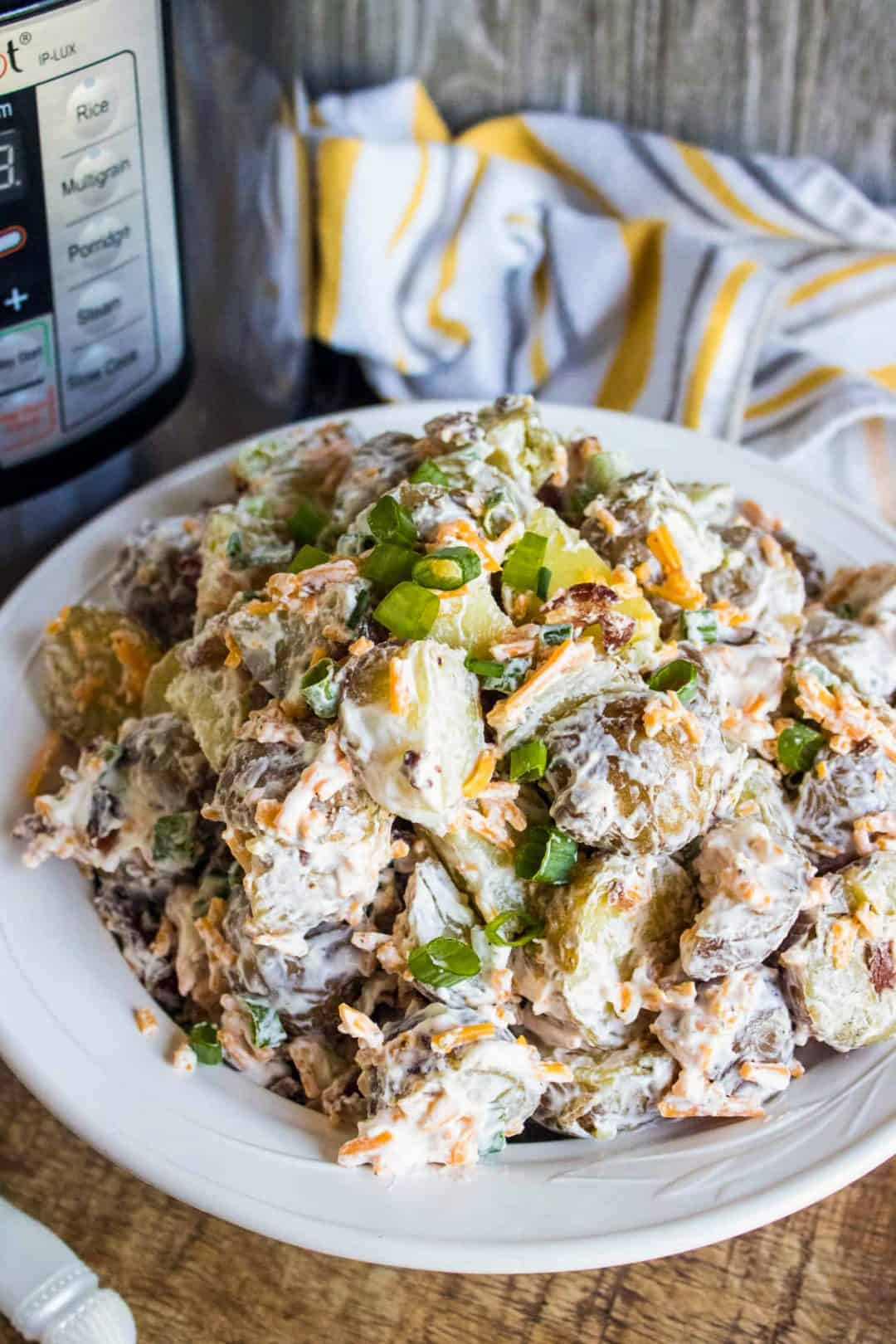 Loaded Instant Pot Potato Salad Recipe