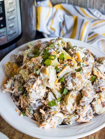 Loaded Instant Pot Potato Salad Recipe
