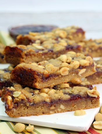 PB & J Breakfast Bars Recipe