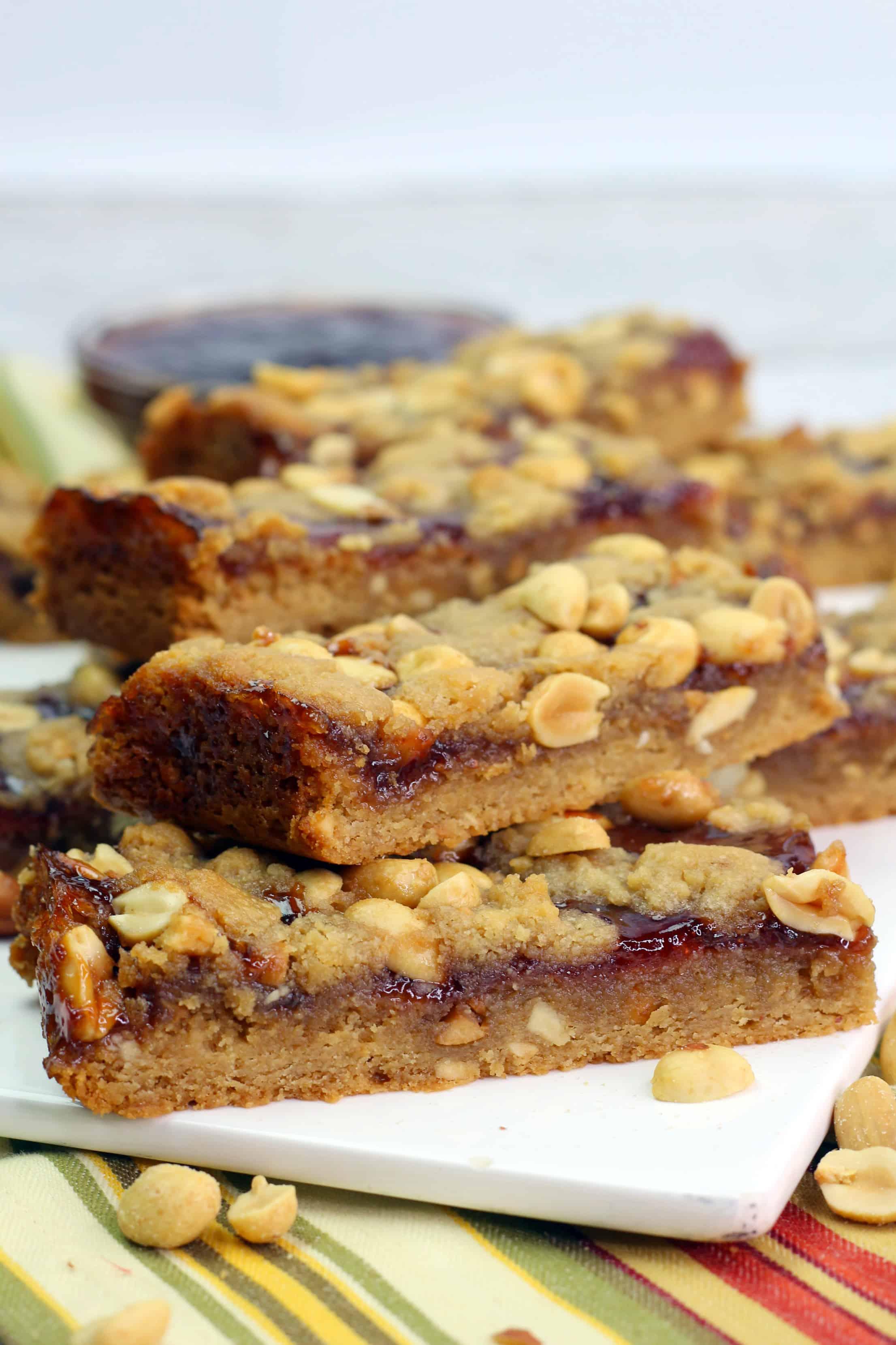 PB & J Breakfast Bars Recipe