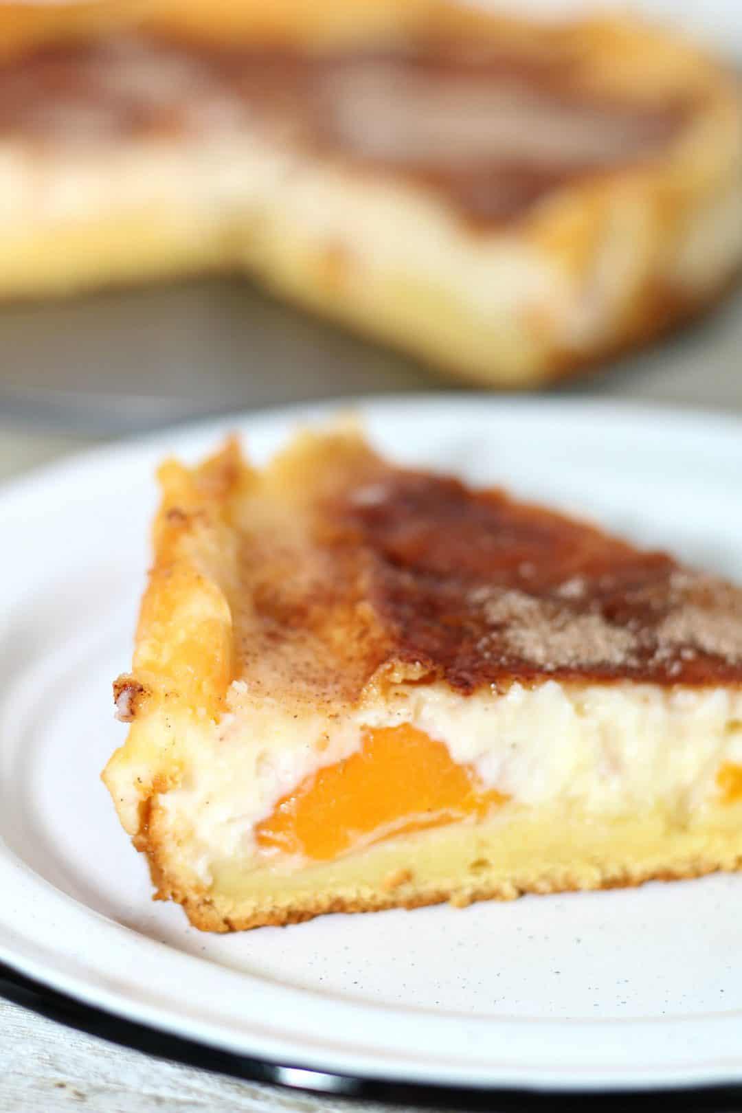Peach Cobbler Cheesecake Recipe