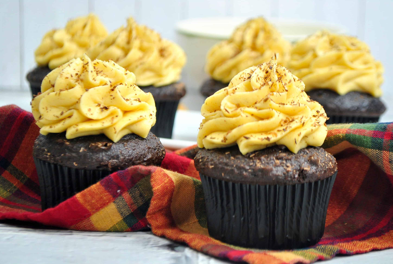 pumpkin mocha cupcakes