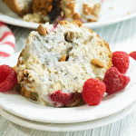 Raspberry Coffee Cake with Almonds