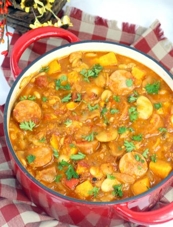 Sweet Potato Stew with Sausage