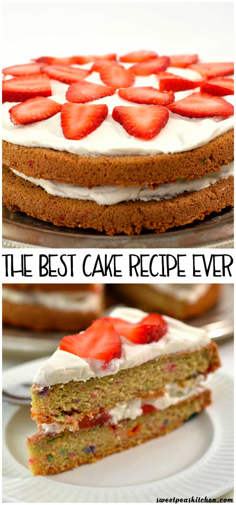 The Best Cake Recipe Ever