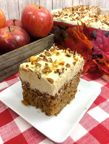 Orange Apple Spice Cake Recipe