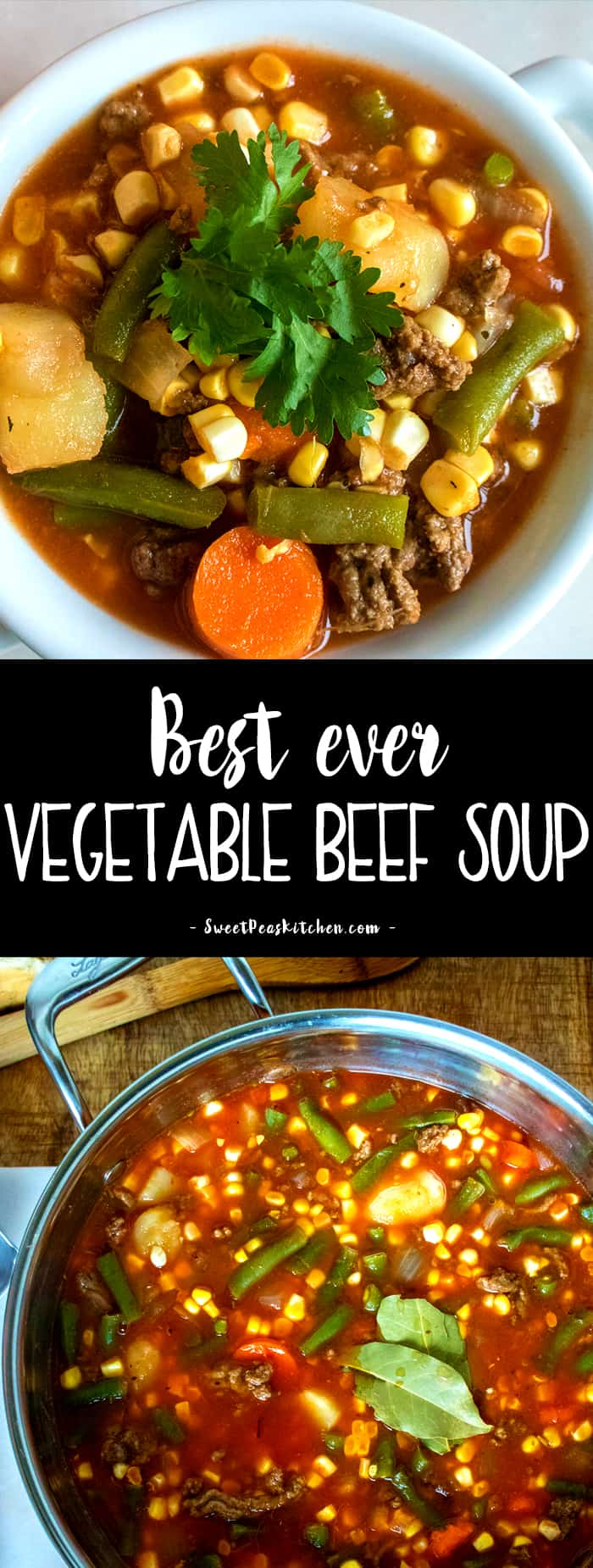 best ever beef vegetable Soup