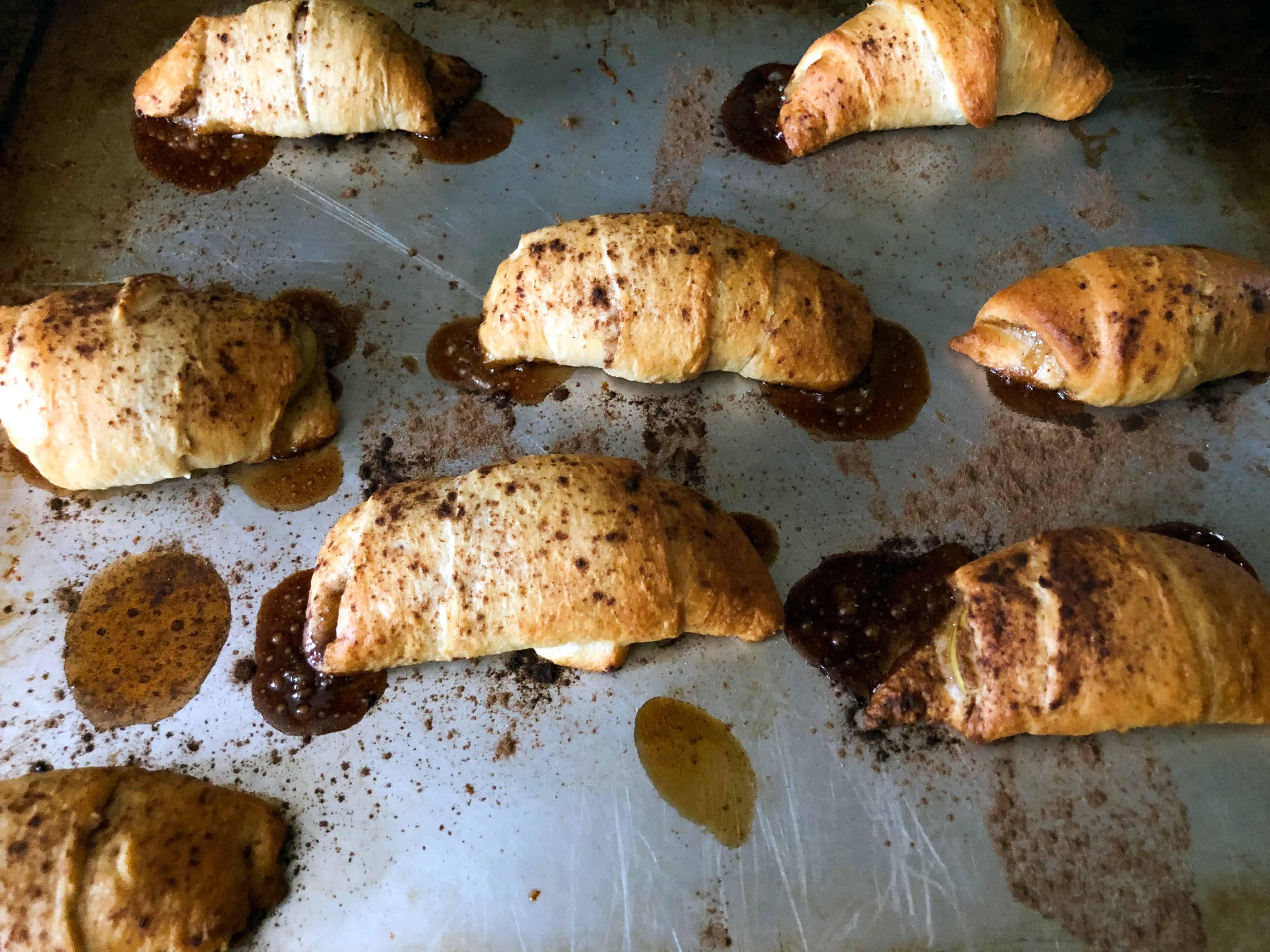 baked crescent roll desserts