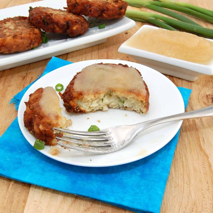 Thick and Creamy Potato Latkes