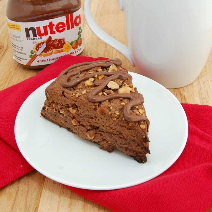 Nutella Scones