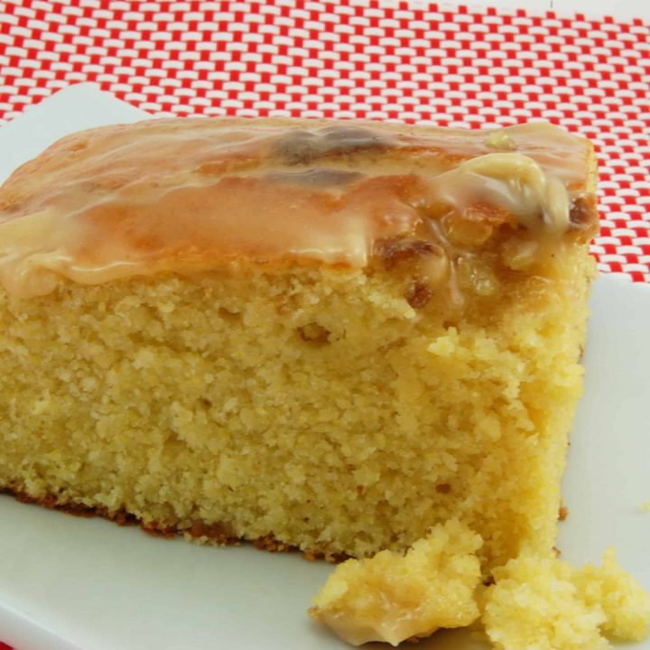 Corn Bread with Honey Butter