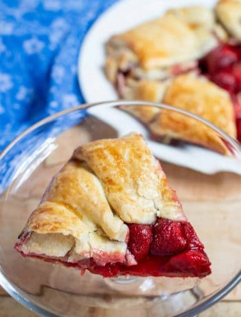 Easy Strawberry Galette Recipe