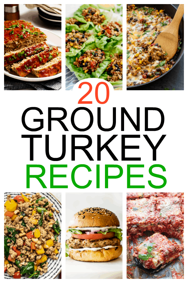 20 Ground Turkey Recipes