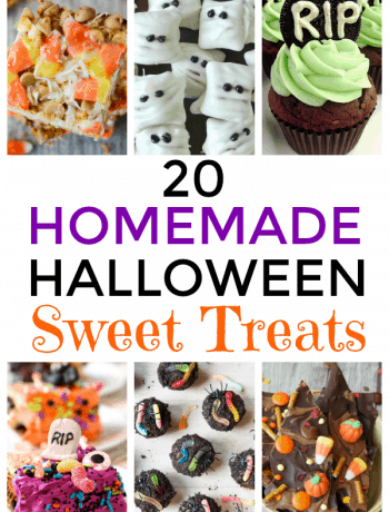 20 Homemade Halloween Sweet Treats