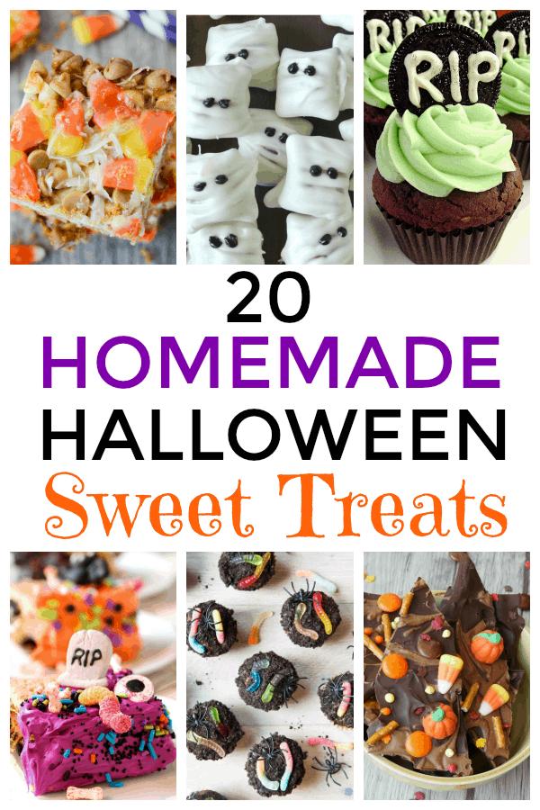 20 Homemade Halloween Sweet Treats