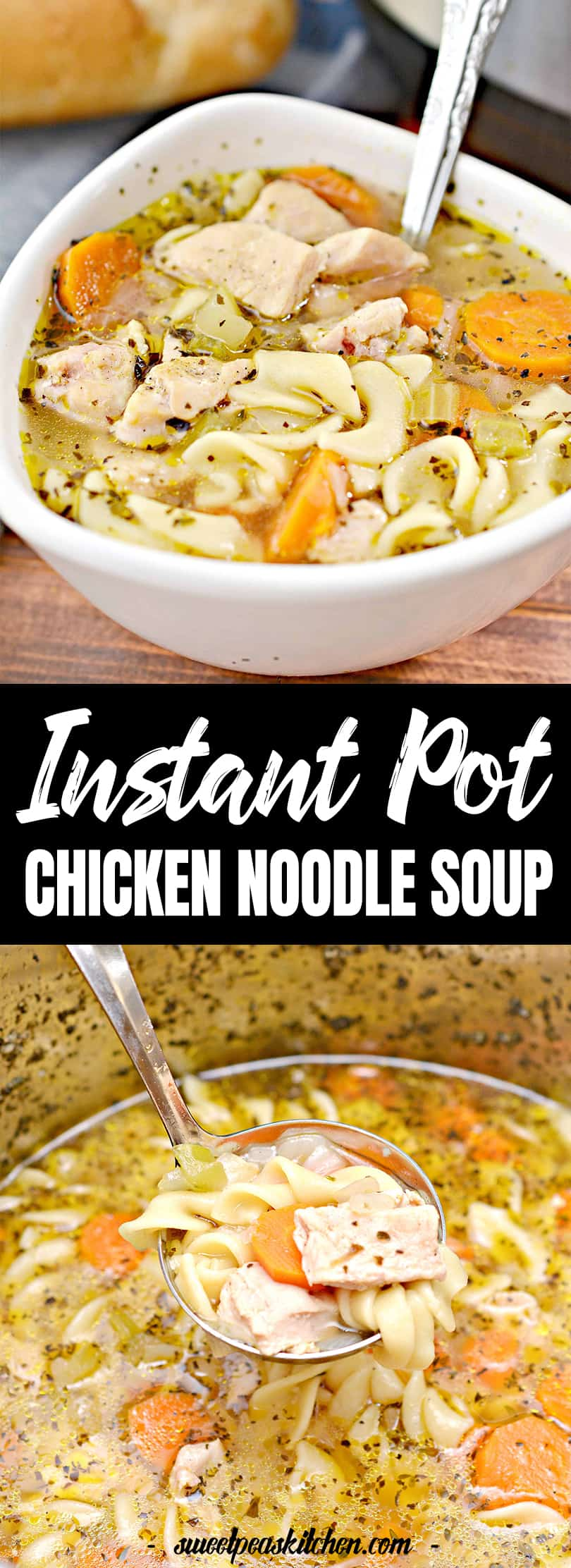 Pressure Cooker Hearty Chicken Noodle Soup