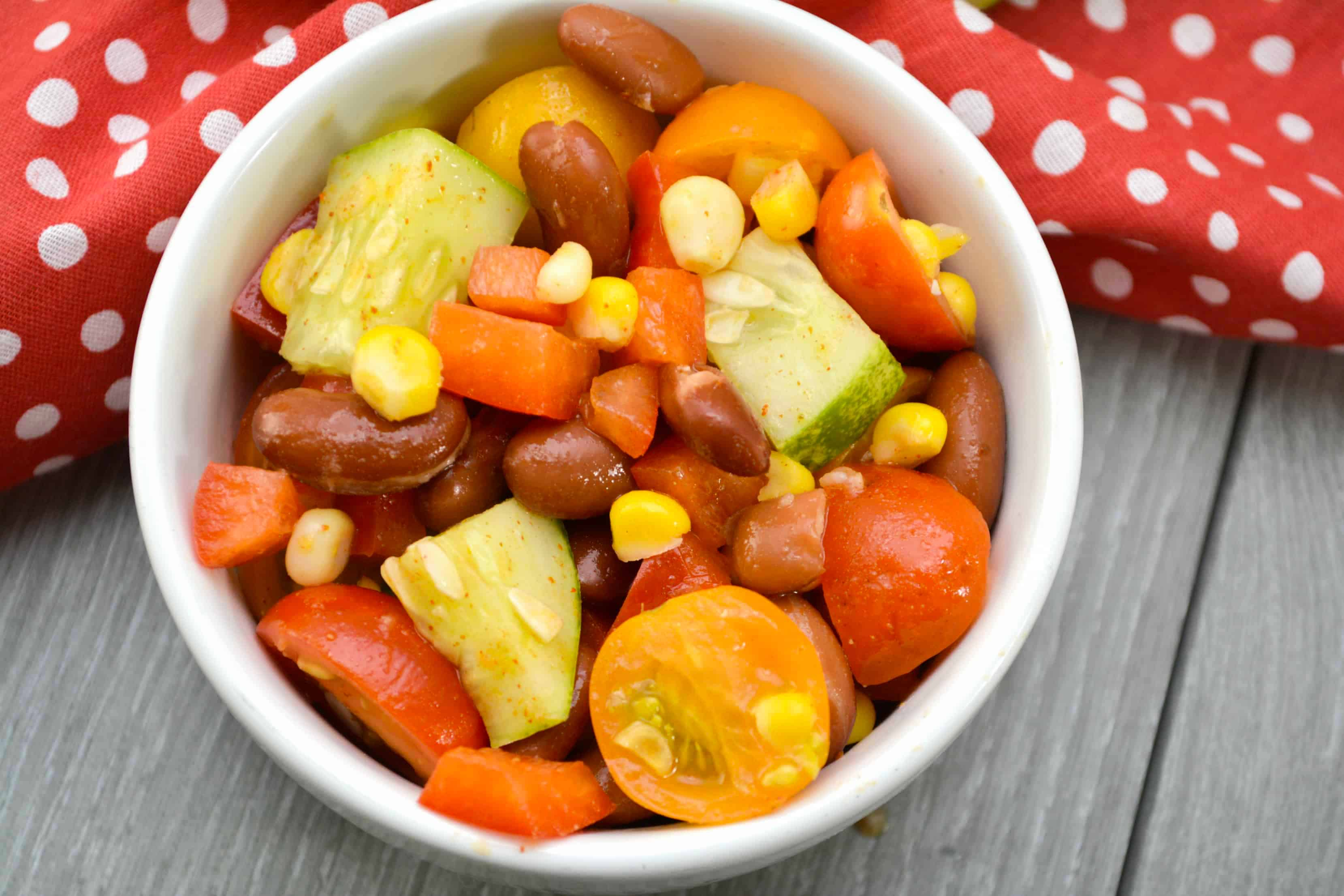 Summer Kidney Bean Salad Recipe