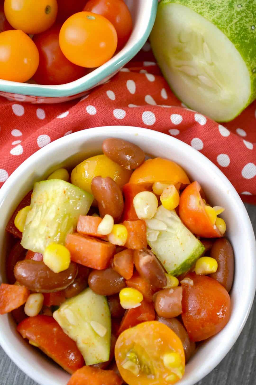 Summer Kidney Bean Salad Recipe