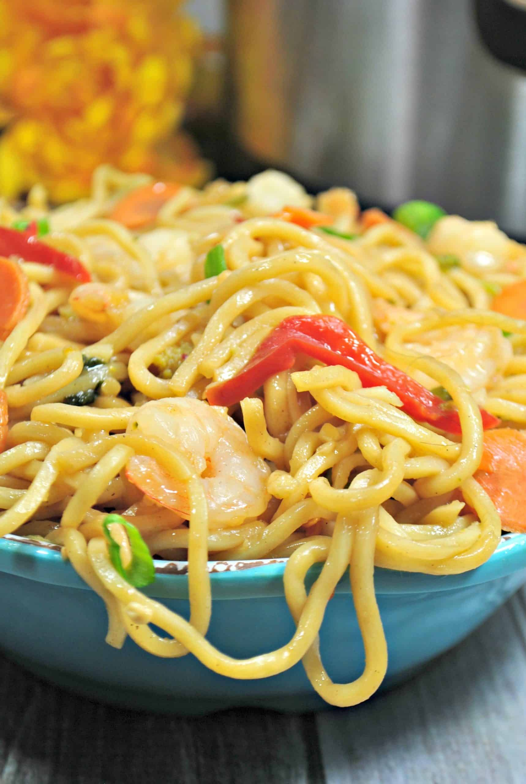 IP shrimp lo mein