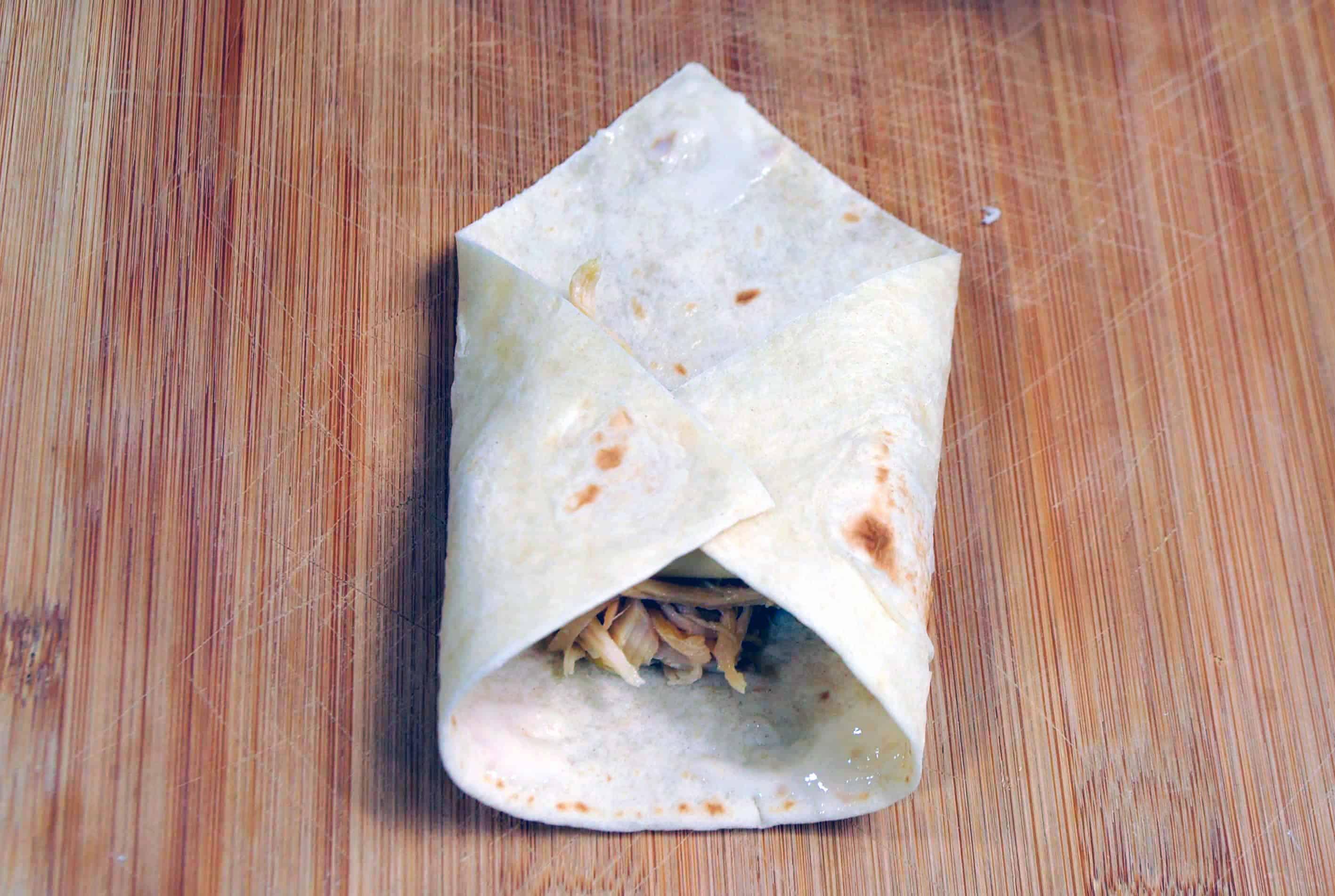 folded tortilla