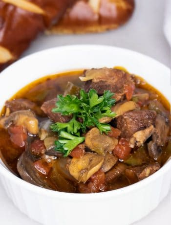 BBQ Slow Cooker Beef Stew