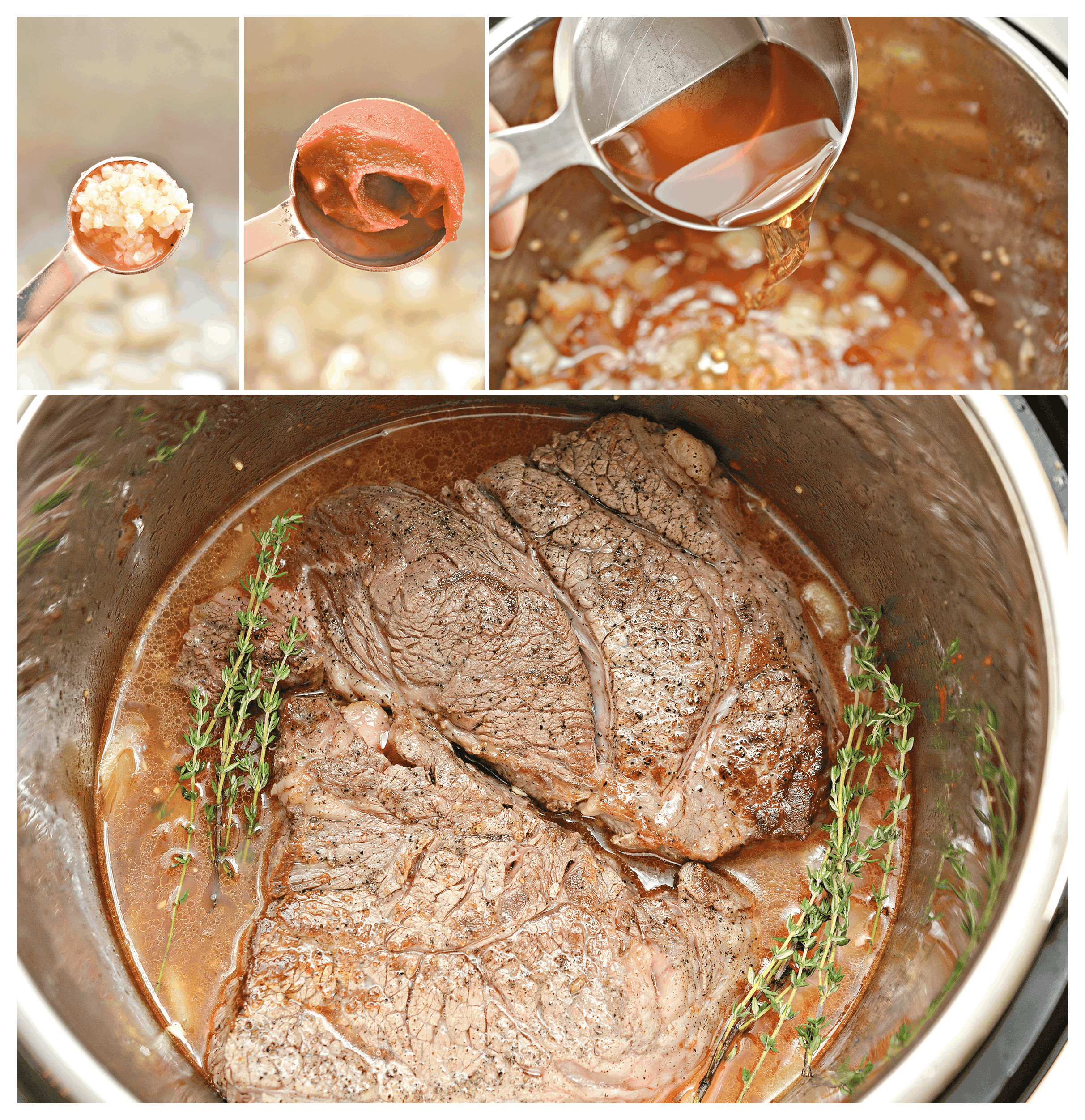 how to make the best ever Instant Pot Poast recipe