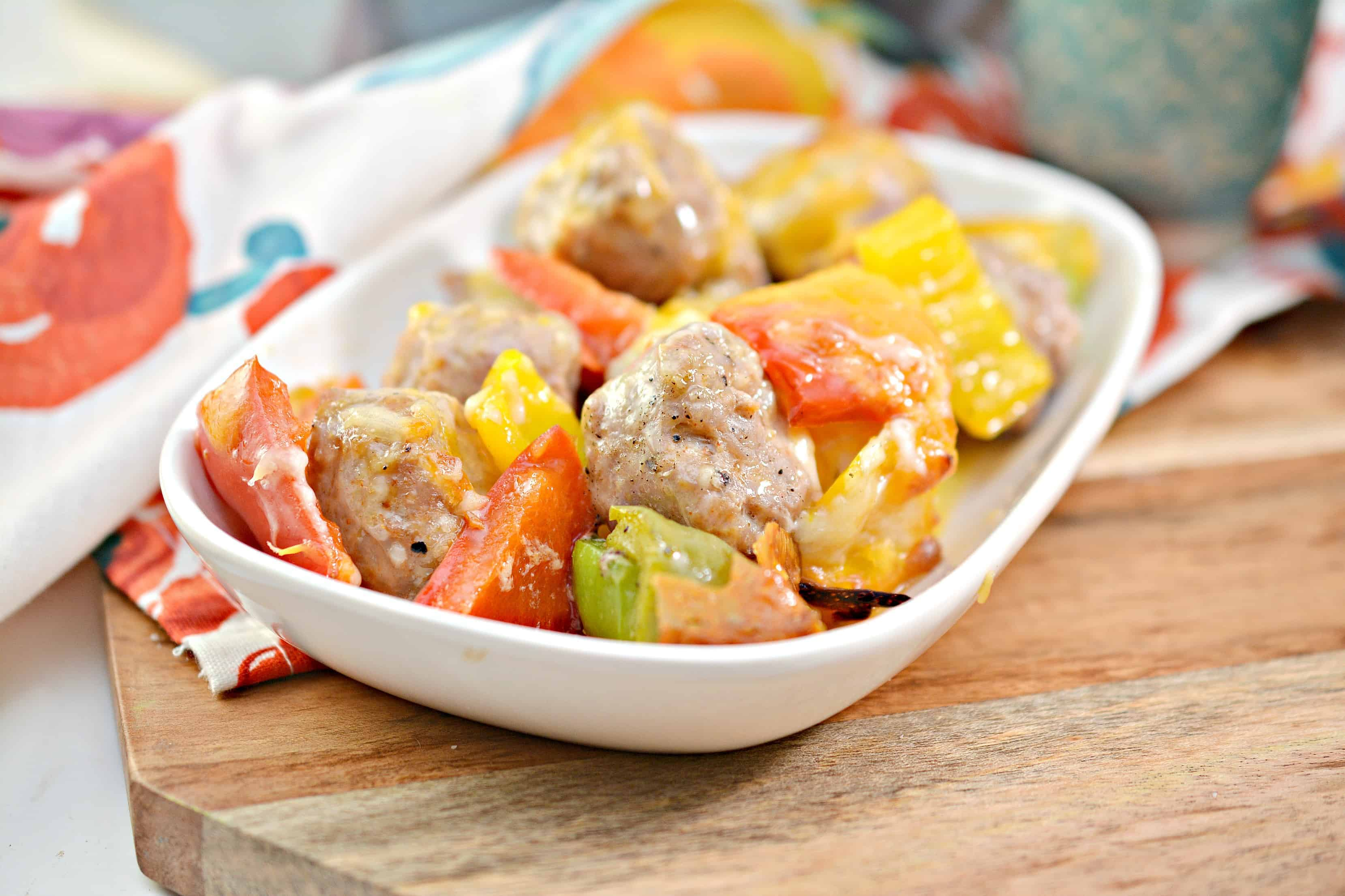 easy Italian sausage and peppers