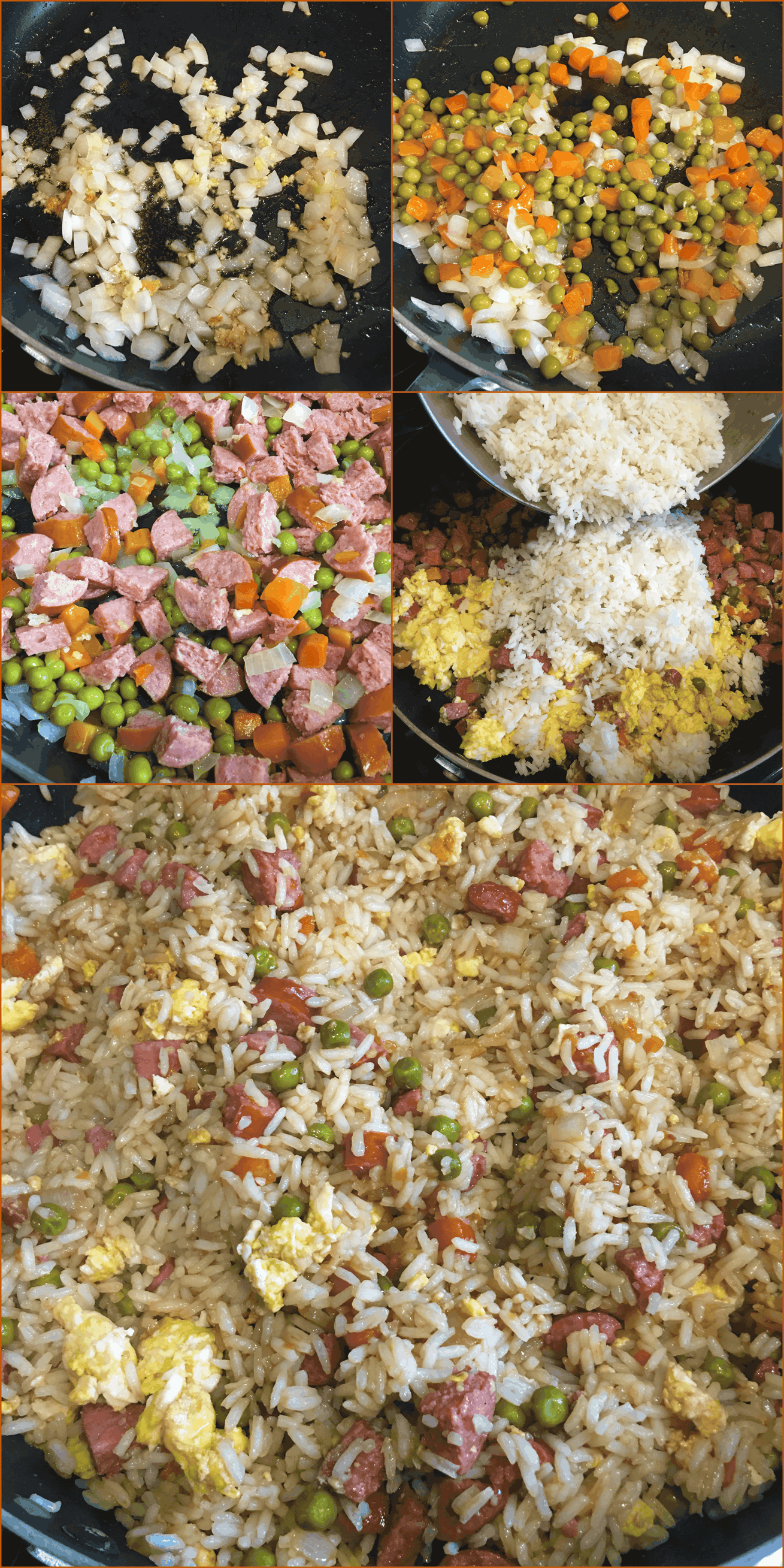 How to make Easy Sausage Fried Rice Recipe