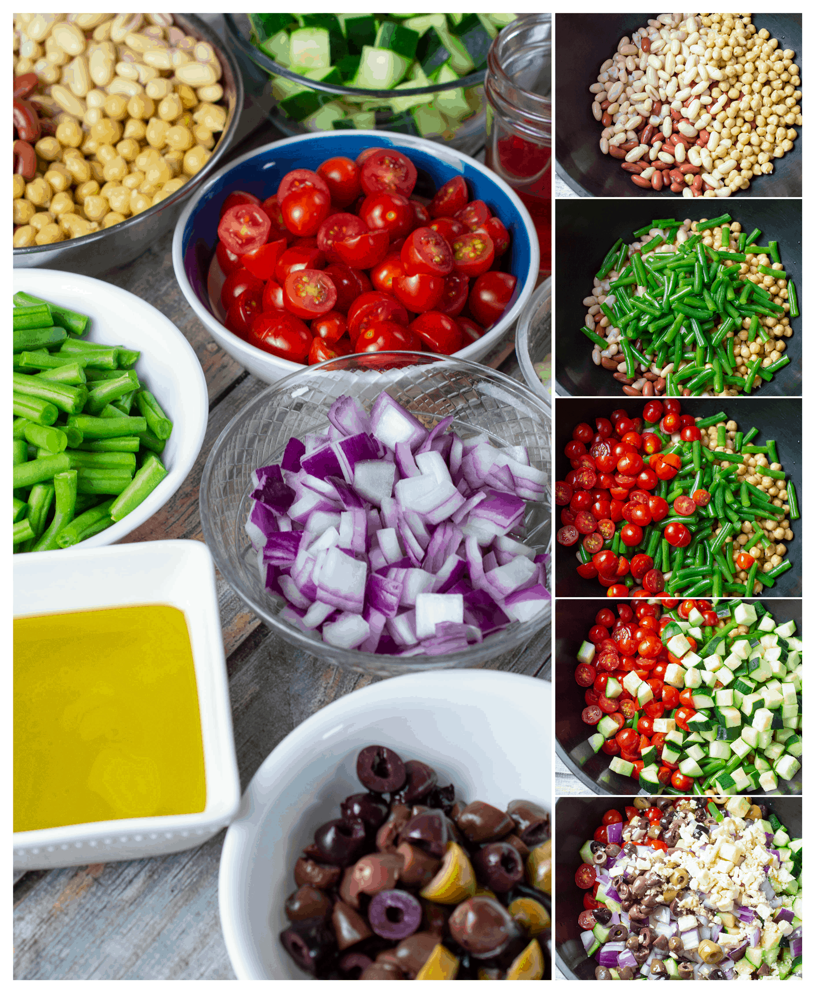 how to make bean salad