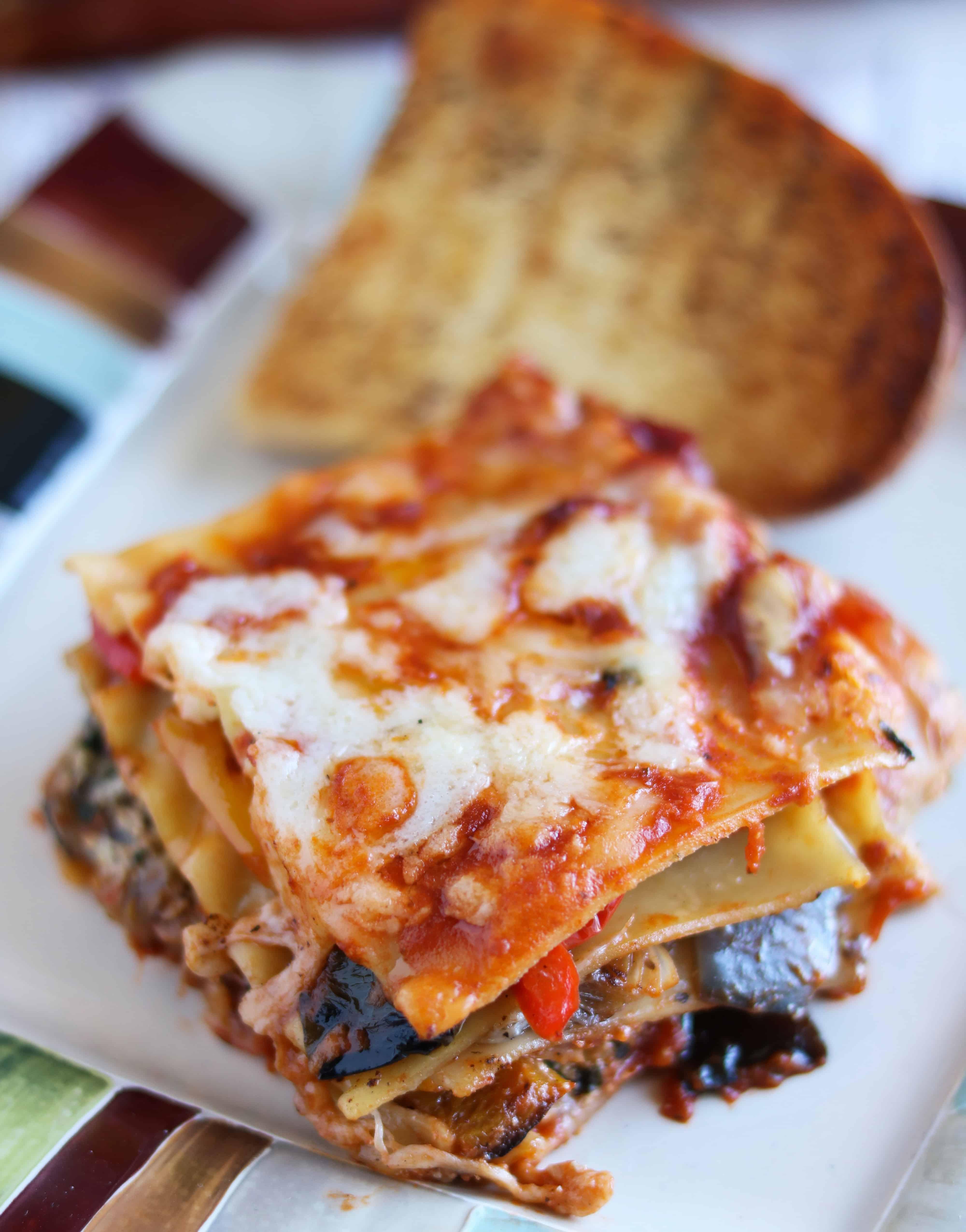 Grilled Veggie Lasagna