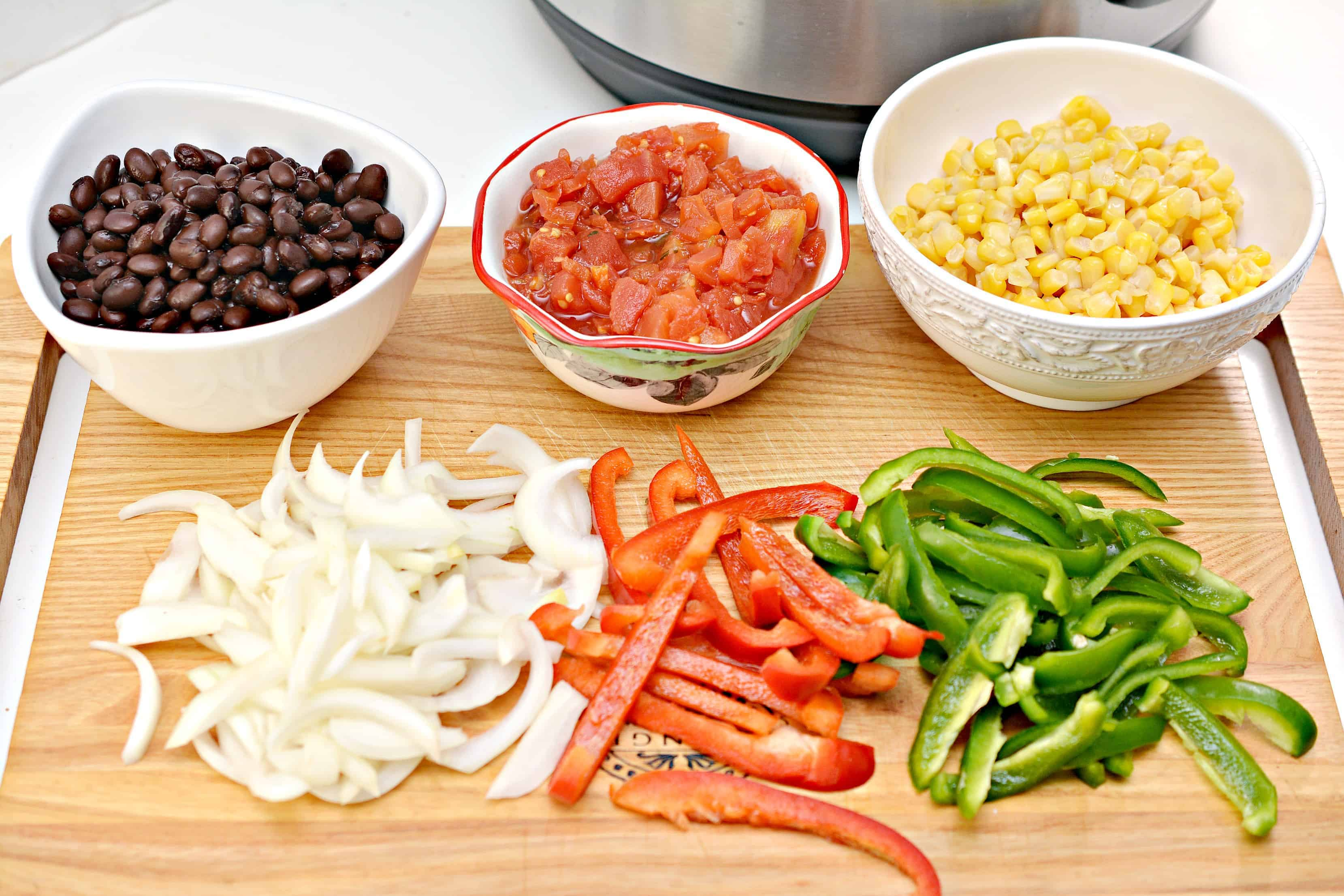 chicken burrito bowl ingredients