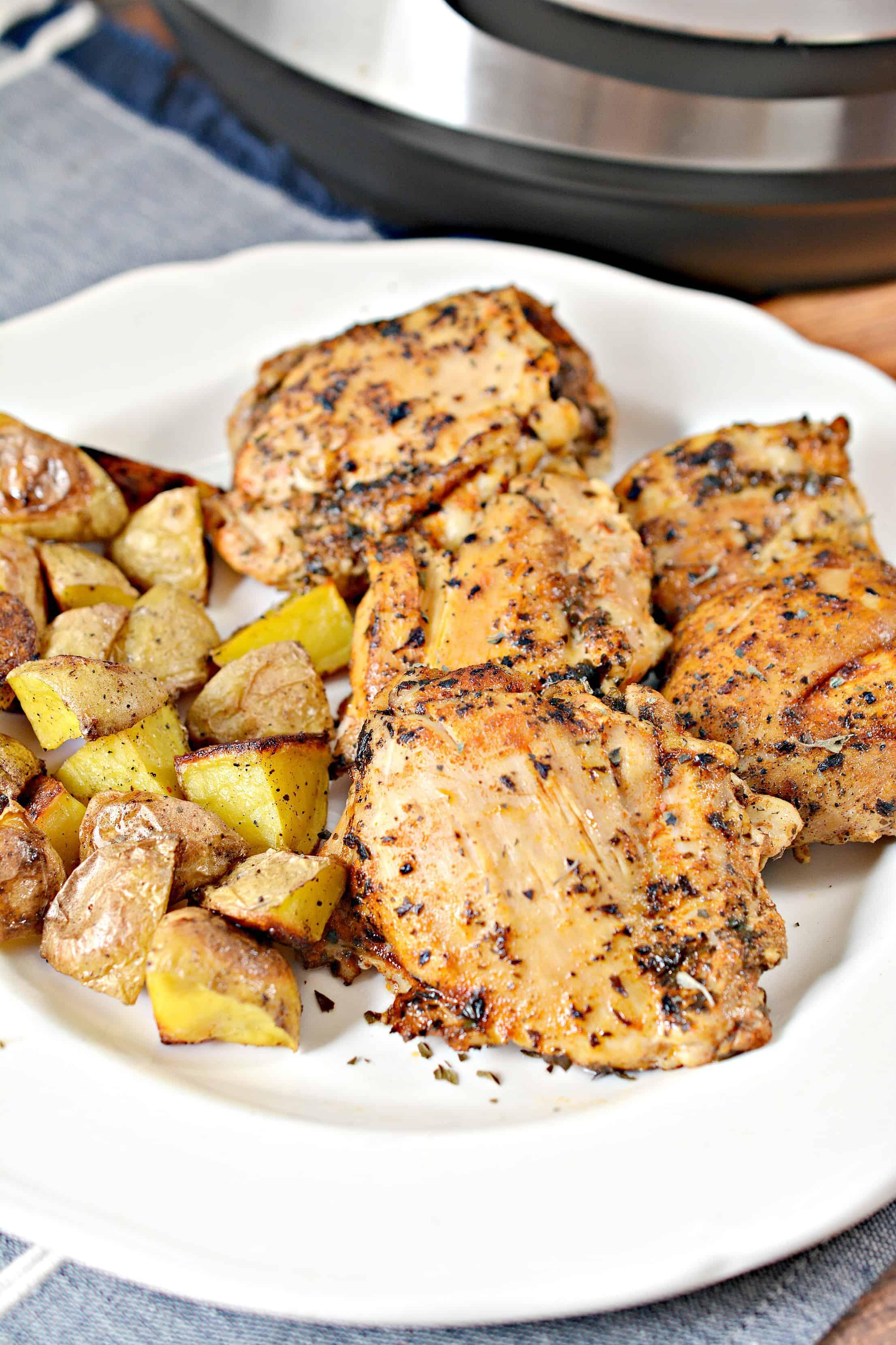 Juiciest Pressure Cooker Chicken Thighs Recipe