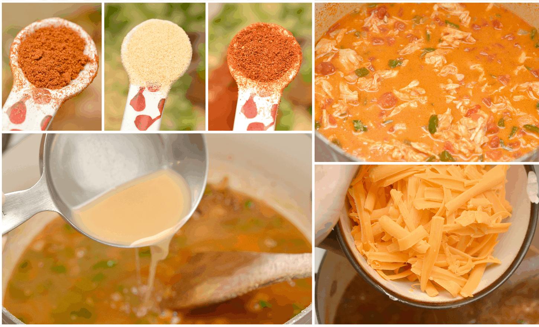 add seasoning to soup