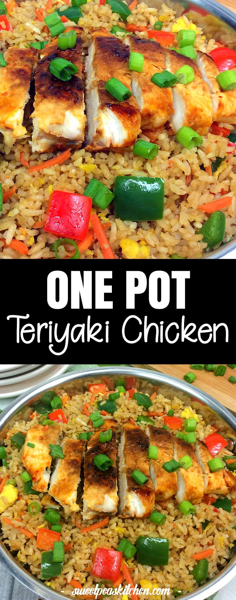 One Pot Teriyaki Chicken Stir Fry