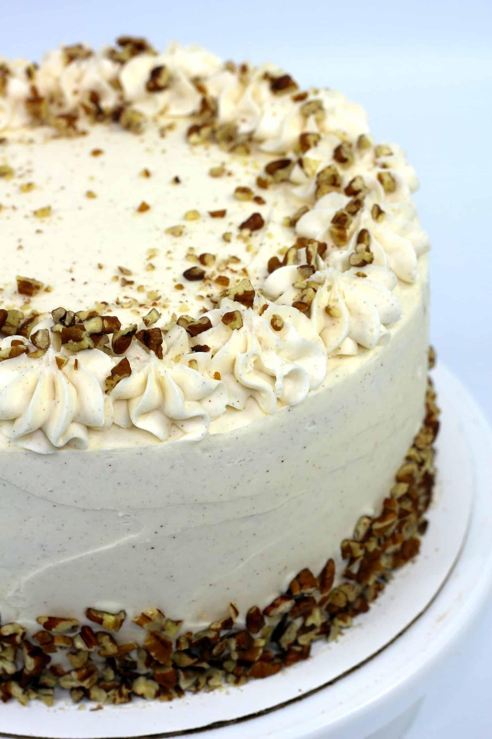 ready to serve pecan cake recipe