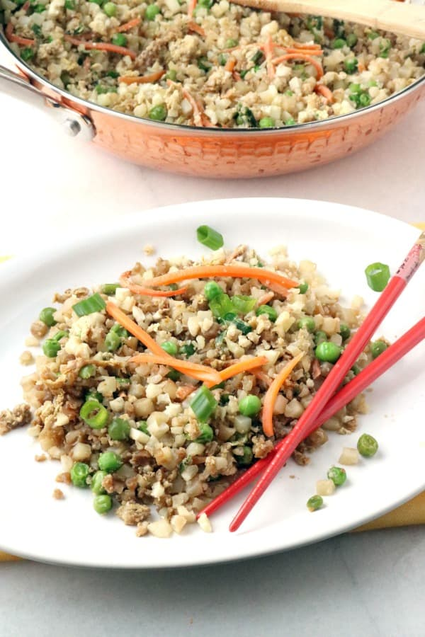 faux fried rice for Weight Watchers