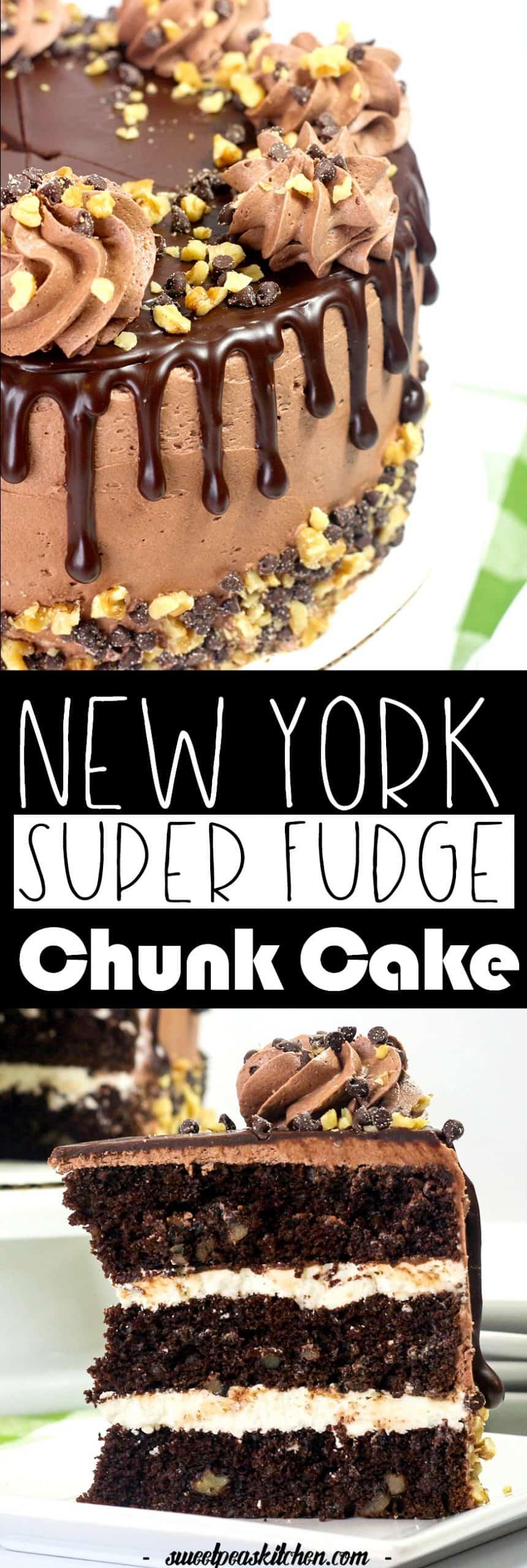 Decadent Chocolate Fudge Cake Recipe