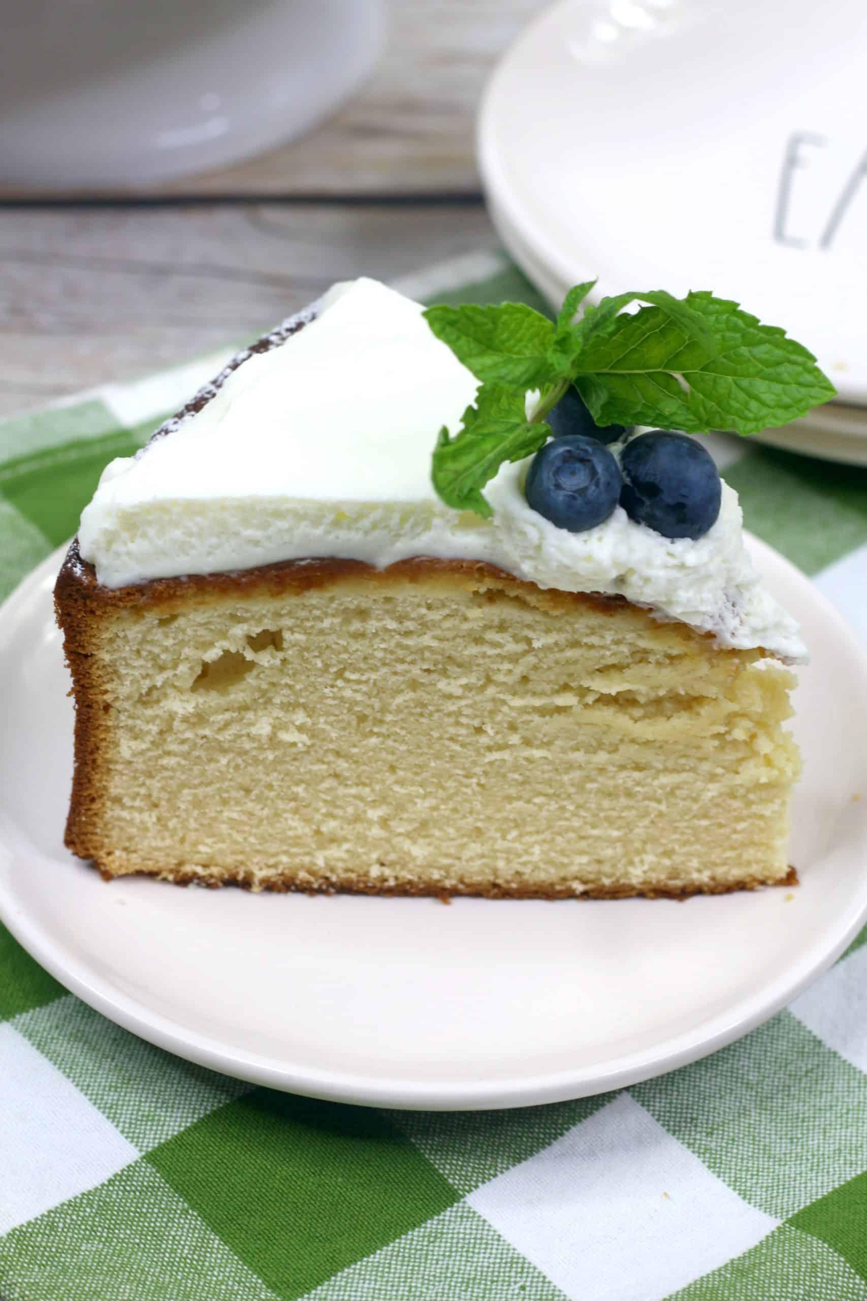 delicious custard cake