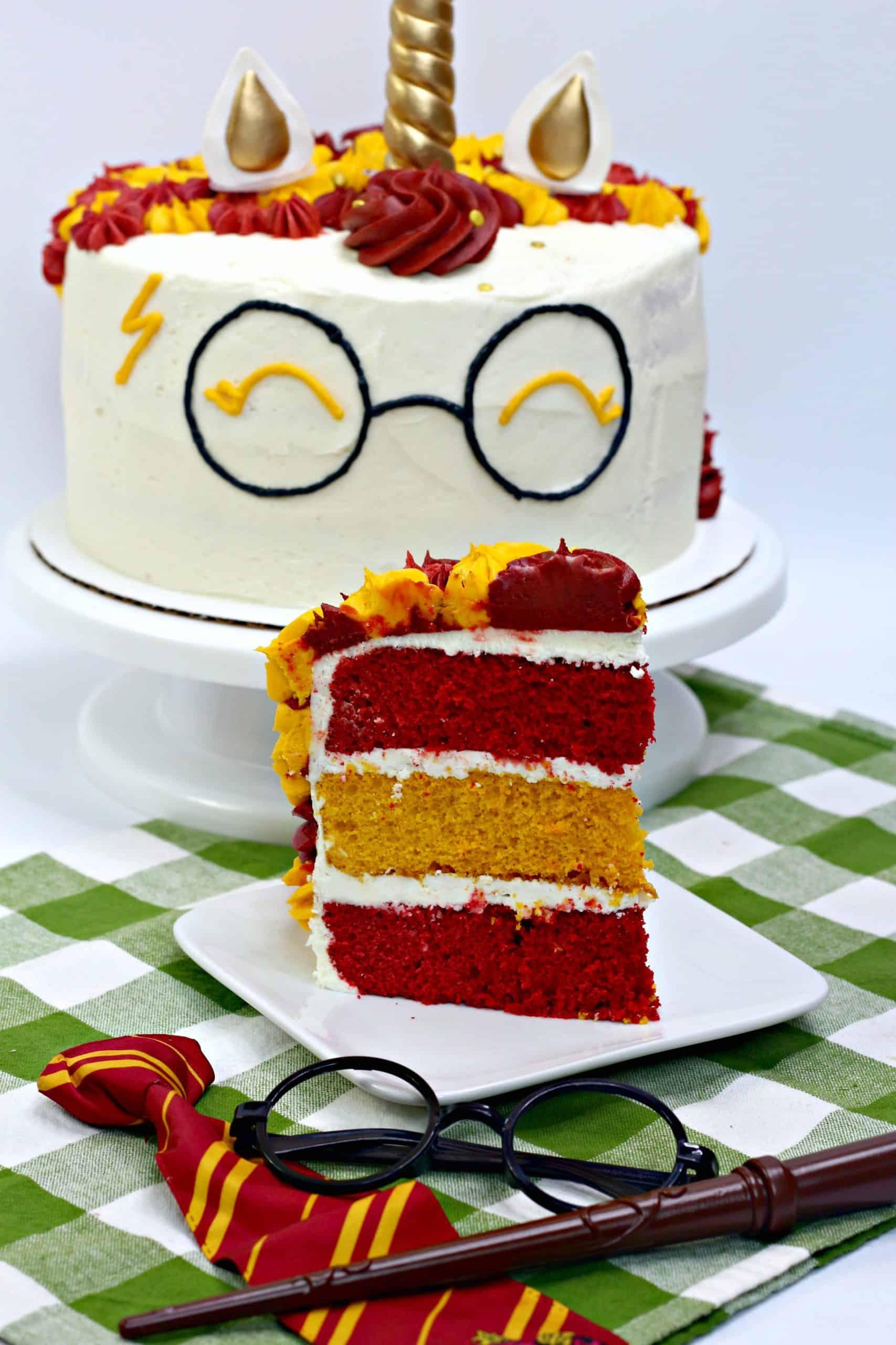 Unicorn Harry Potter Cake Recipe Sweet Pea S Kitchen