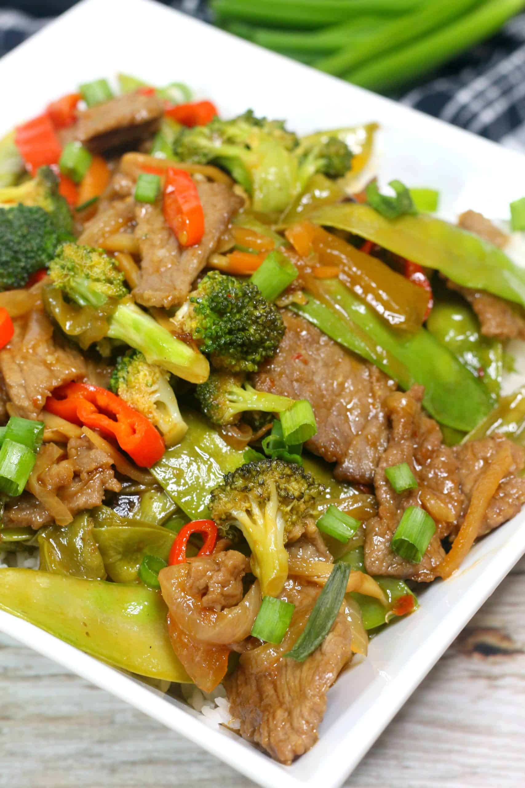 Instant Pot Chinese Beef